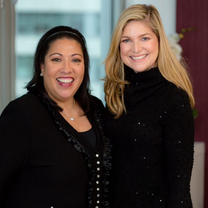 (From left) Dee Branciforte, Fischer Travel's long-time vice president, and Stacy Fischer-Rosenthal, Fischer Travel president and founder of Fischer-Rosenthal Consulting