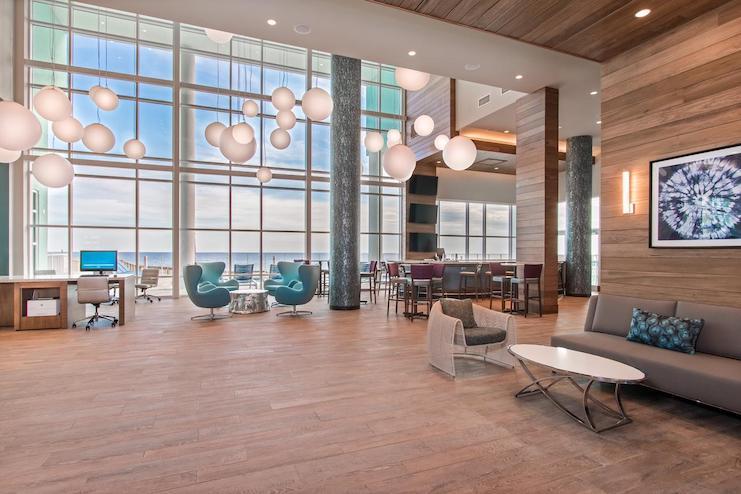 Hampton Inn & Suites Panama City Beach, Florida, Beachfront