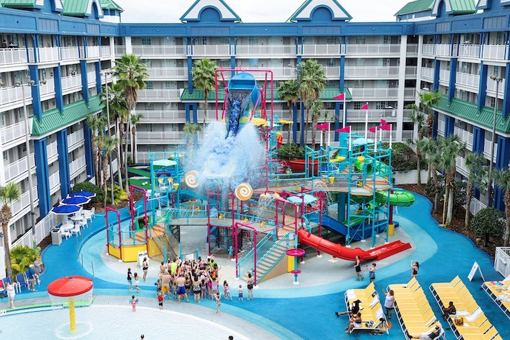 Holiday Inn Resort Orlando Suites and Waterpark — The Big Wave
