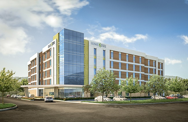 Home2 Suites by Hilton San Francisco Airport North — a modular-build hotel