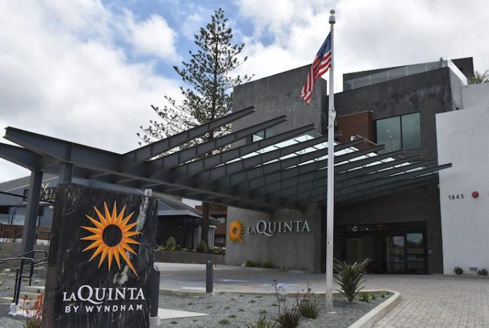 The recently-opened La Quinta Inn & Suites by Wyndham San Luis Obispo Downtown, owned by Andrew Firestone of Stone Park Capital, combines the brand's Del Sol prototype with local architectural style.