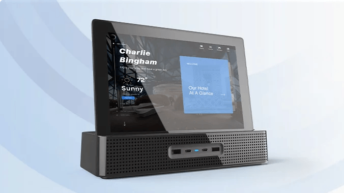INTELITY In-Room Tablet