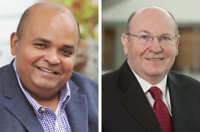 Access Point Financial has named Dilip Petigara (left) as CEO and Michael Lipson (right) as chairman of the board.