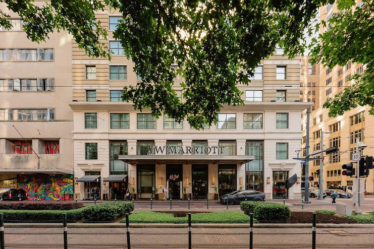 Dimension Development - JW Marriott Houston Downtown