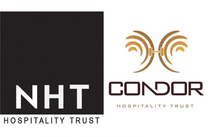 NHT Hospitality Trust and Condor Hospitality Trust logos