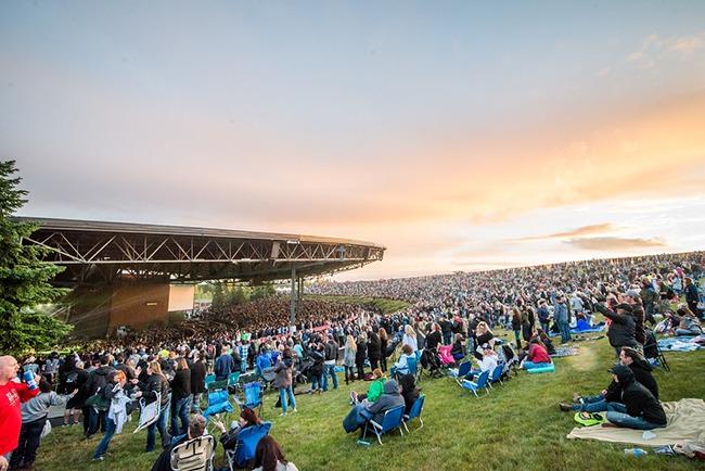 White River Amphitheater (Credit: Hilton Honors)