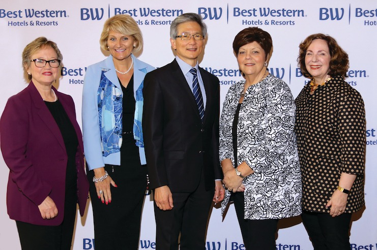 Dowling at the 2018 Best Western Womens Forum