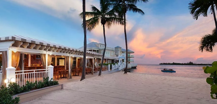 Pier House Resort & Spa in Key West, Florida.
