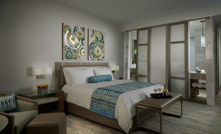Seminole Hard Rock Guitar Hotel guestroom