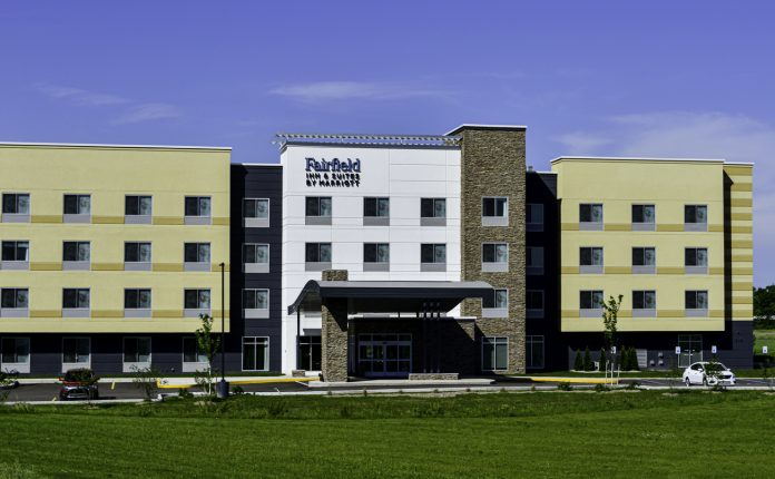 With 296 projects totaling 28,662 rooms, Marriott's Fairfield Inn & Suites brand is leading its hotel construction pipeline.