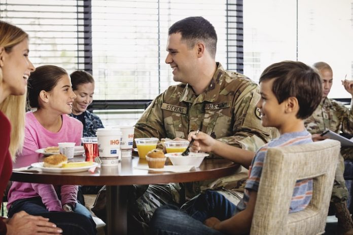 IHG Army Hotels breakfast area family