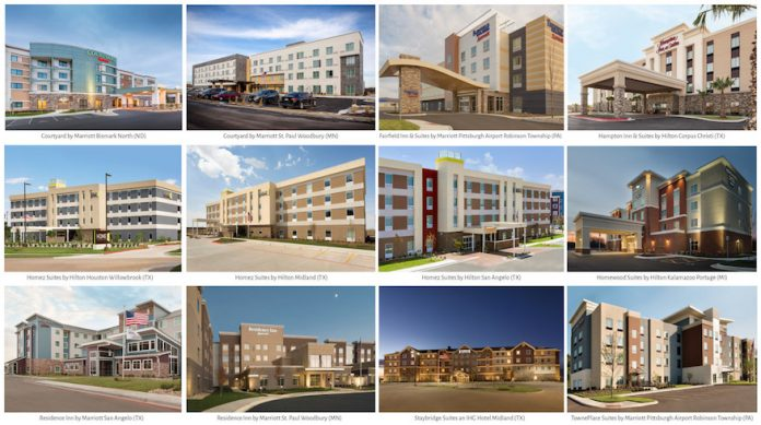 AHIP announced the planned acquisition of 12 premium-branded hotels for $191 million. (Photo courtesy of CNW Group/American Hotel Income Properties REIT LP)