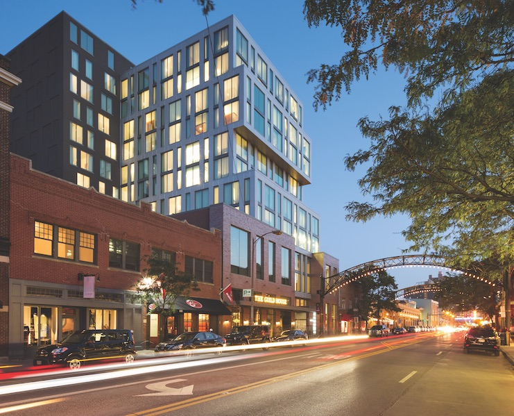 Le Méridien Columbus, The Joseph, which offers special amenities for runners