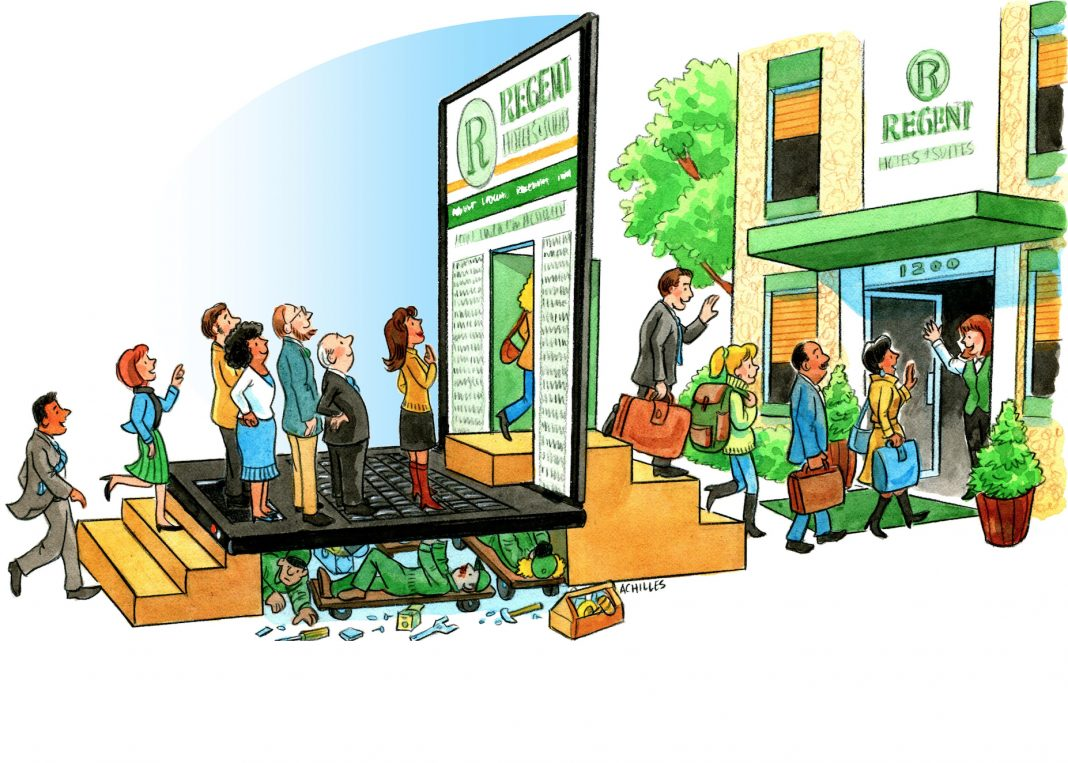 Growing direct booking revenue via digital marketing