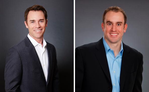 AETHOS Los Angeles Managing Director Matt Peterson and AETHOS Philadelphia Managing Director Andrew Hazelton