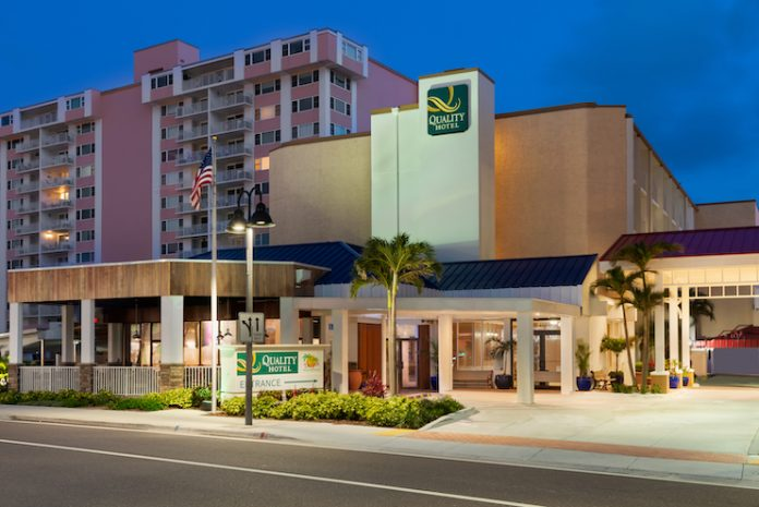 Quality Inn Clearwater Beach, which will become Dolphin Sands Beach Club