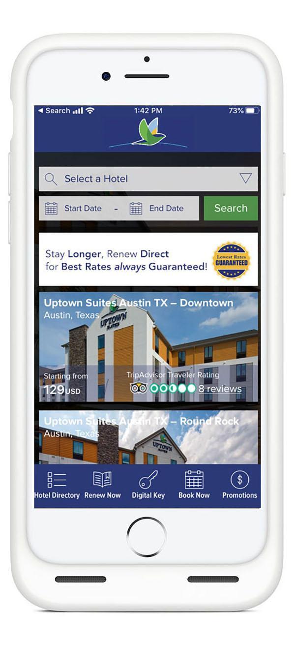 Uptown Suites App