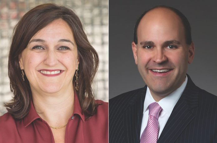 Rosanna Maietta, AHLA Foundation president and EVP of communications and public relations at AHLA, and Greg Juceam, chair of the AHLA Foundation Board and president and COO of G6 Hospitality