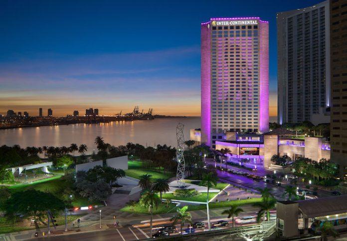 InterContinental Miami hosts high-profile events like the Super Bowl (Photo credit: InterContinental Miami)