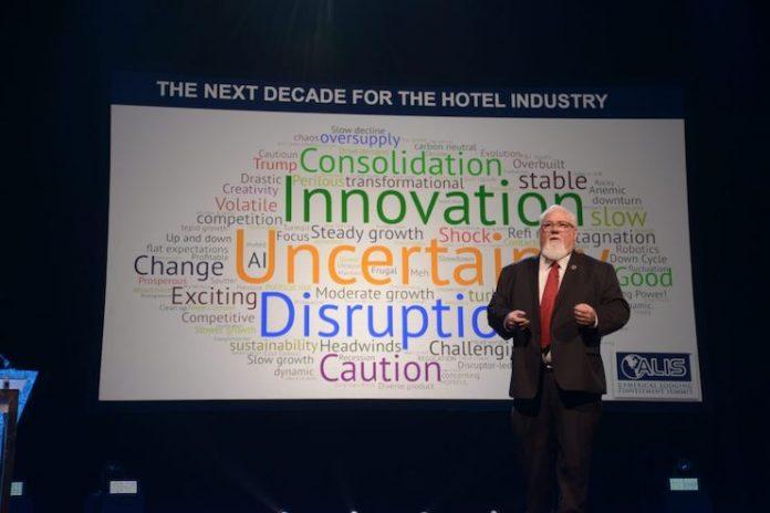President of BHN Group Jeff Higley speaks at ALIS 2020.