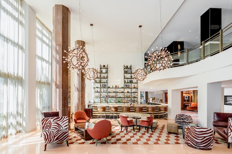 Shelborne South Beach has transformed its 1940s hotel lobby bar and lounge, The Drawing Room.