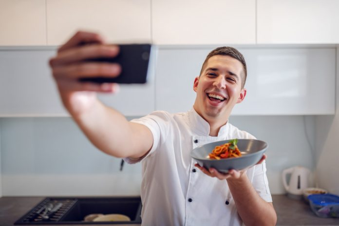 chef selfie