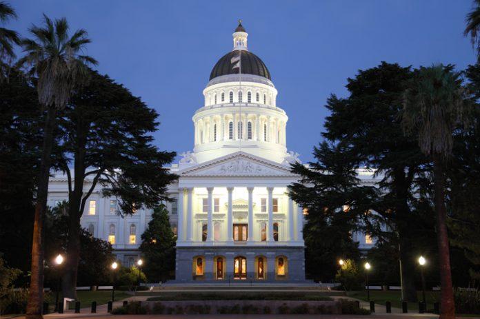 State capital building in Sacramento, California — California Legislature