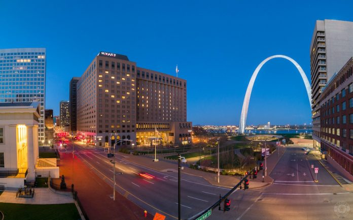 Hyatt Regency St. Louis at the Arch (Photo courtesy of Christopher Taber)