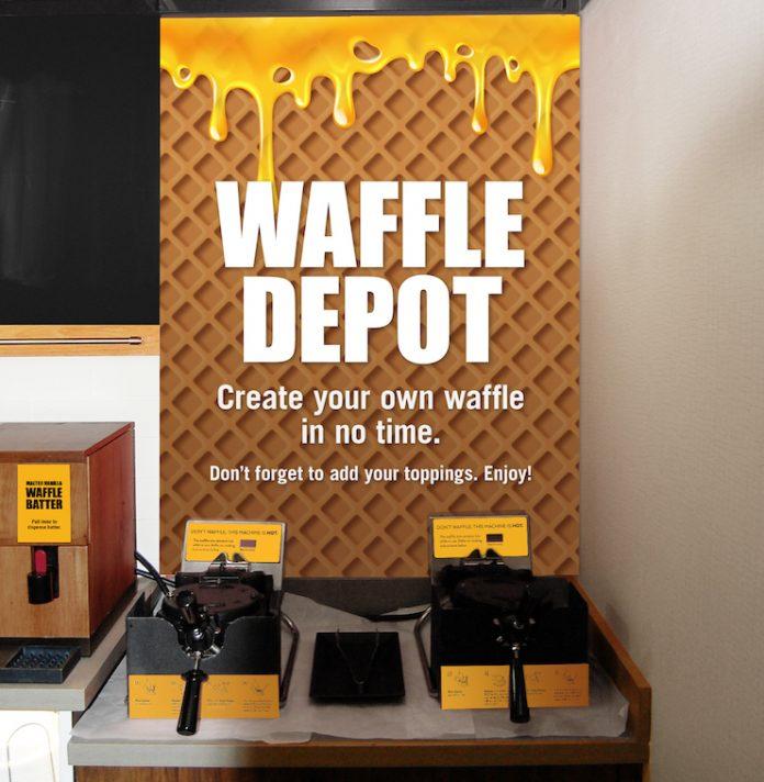 Waffle Depot Sign