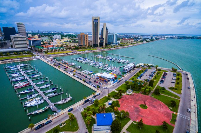 Corpus Christi, Texas, where absolute occupancy was 63.3 percent for the weekend of May 1-2, 2020.