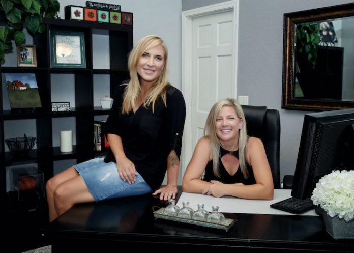 Jennifer May and Colleen Tebrake of Two Sister Bosses