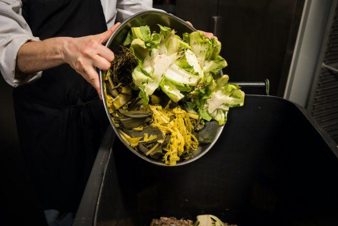 Composting food waste
