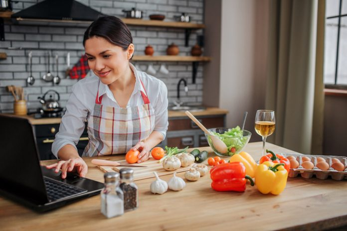 virtual F&B events - cooking