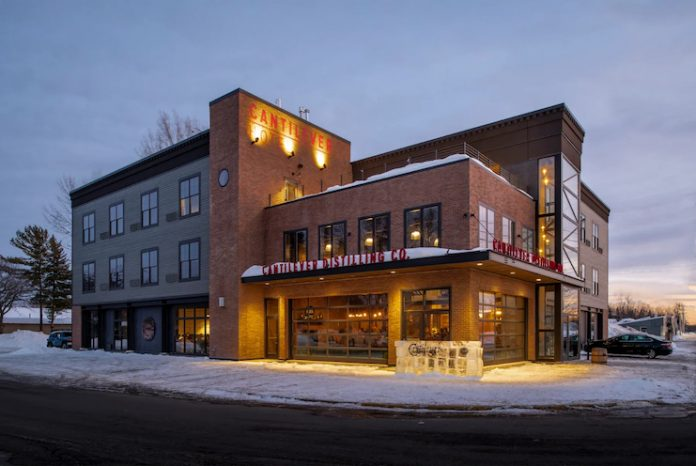Cantilever Hotel, a Trademark Collection by Wyndham hotel in Ranier, Minn.