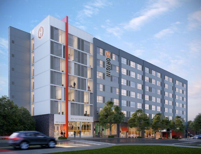 Origin Hotel in Raleigh, N.C.