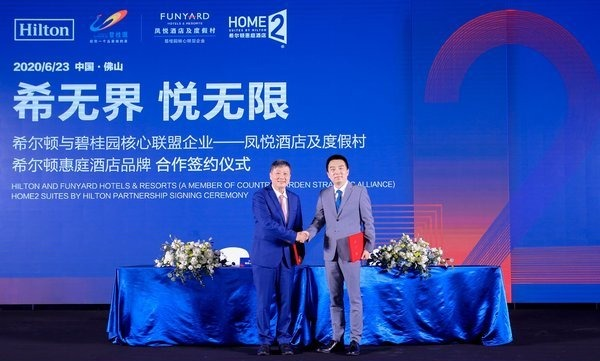 Hilton and Country Garden to develop 1,000 Home2 Suites by Hilton hotels in China