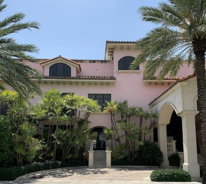 Palm House Hotel in Palm Beach, Fla.