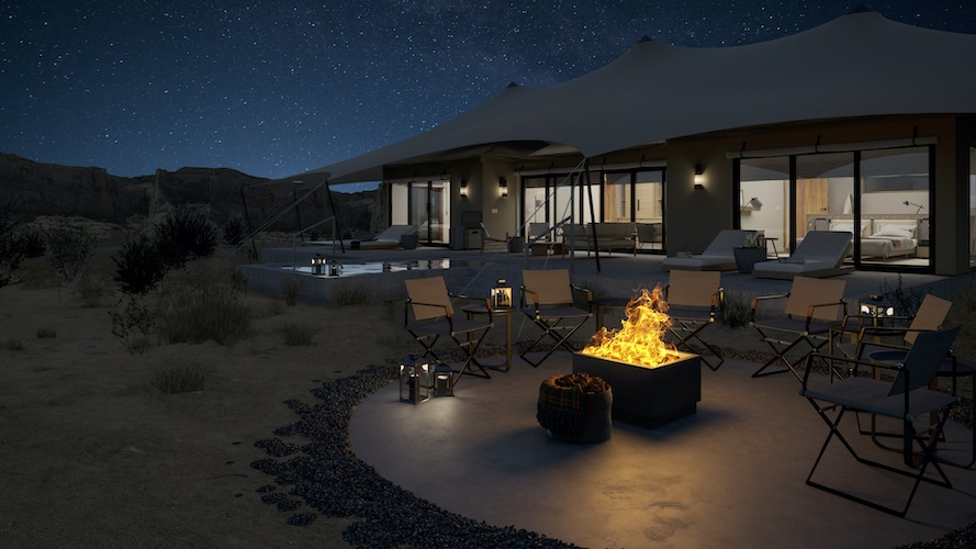 Camp Sarika by Amangiri by Luxury Frontiers, San Francisco