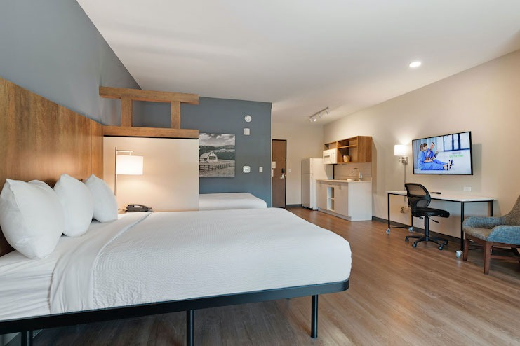 Extended Stay America Guestroom