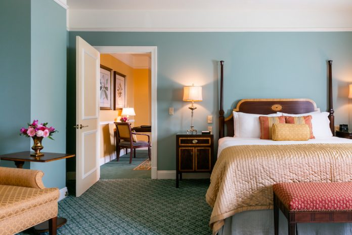 Guestroom at The Hermitage Hotel (Photo: Lisa Diederich Photography)