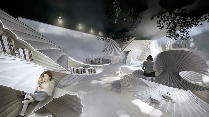 Moment Hotel by Jieru Lin, California College of the Arts in San Francisco