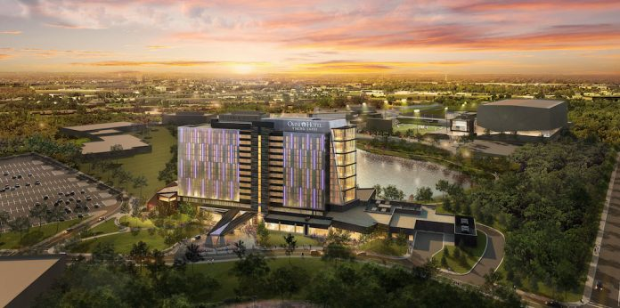 Omni Viking Lakes Hotel is slated to open in October 2020.