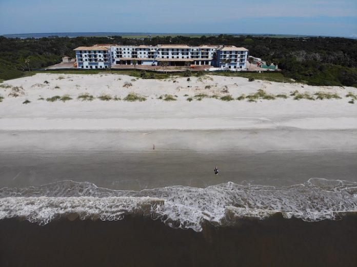 LNW Hospitality and New Castle Hotels Reach Construction Milestone on Dual-Branded Marriott on Jekyll Island, Ga.
