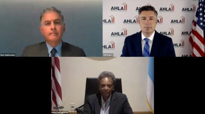 AHLA Forum: Hyatt CEO Mark Hoplamazian and Chicago Mayor Lori Lightfoot