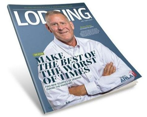 """Read the latest issue of LODGING <a href=""""https://bluetoad.com/publication/?m=16012&amp;l=1"""" target=""""_blank"""" rel=""""noopener noreferrer"""">here</a>."""