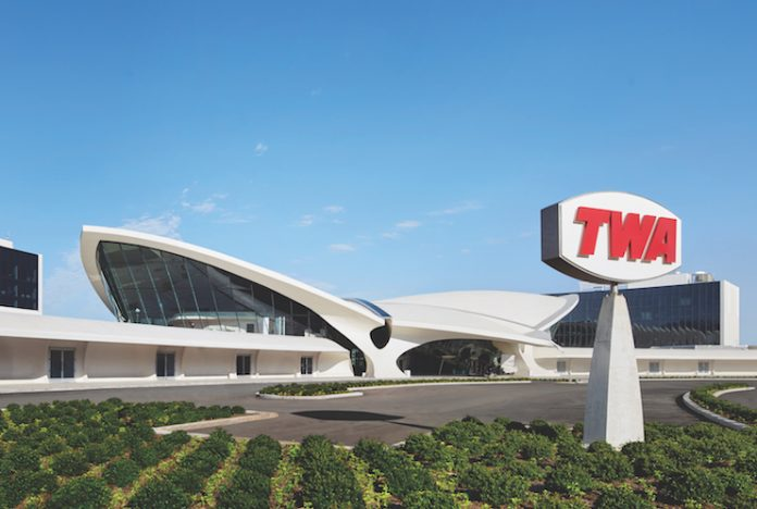 The TWA Hotel at JFK International Airport is owned by MCR and uses StayNTouch's Rover PMS.