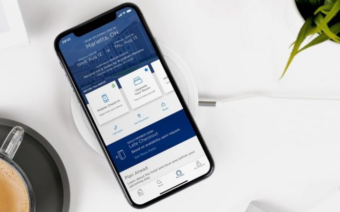Wyndham Hotels Mobile App Check In