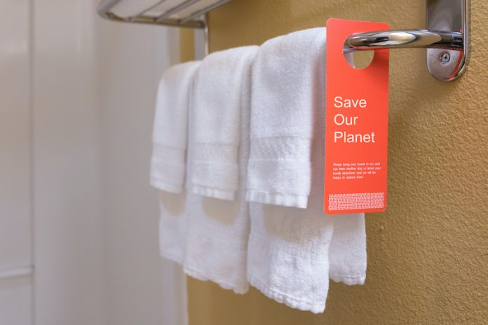 Towel sustainability