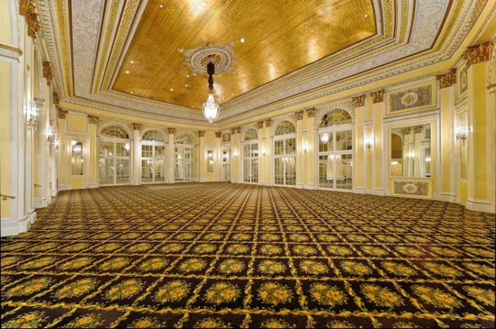 Pantlind Ballroom at Amway Grand Plaza (Photo courtesy of AHC Hospitality)