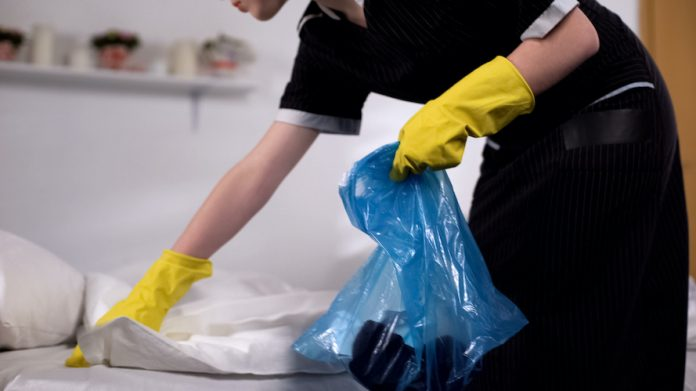 housekeeping, trash removal